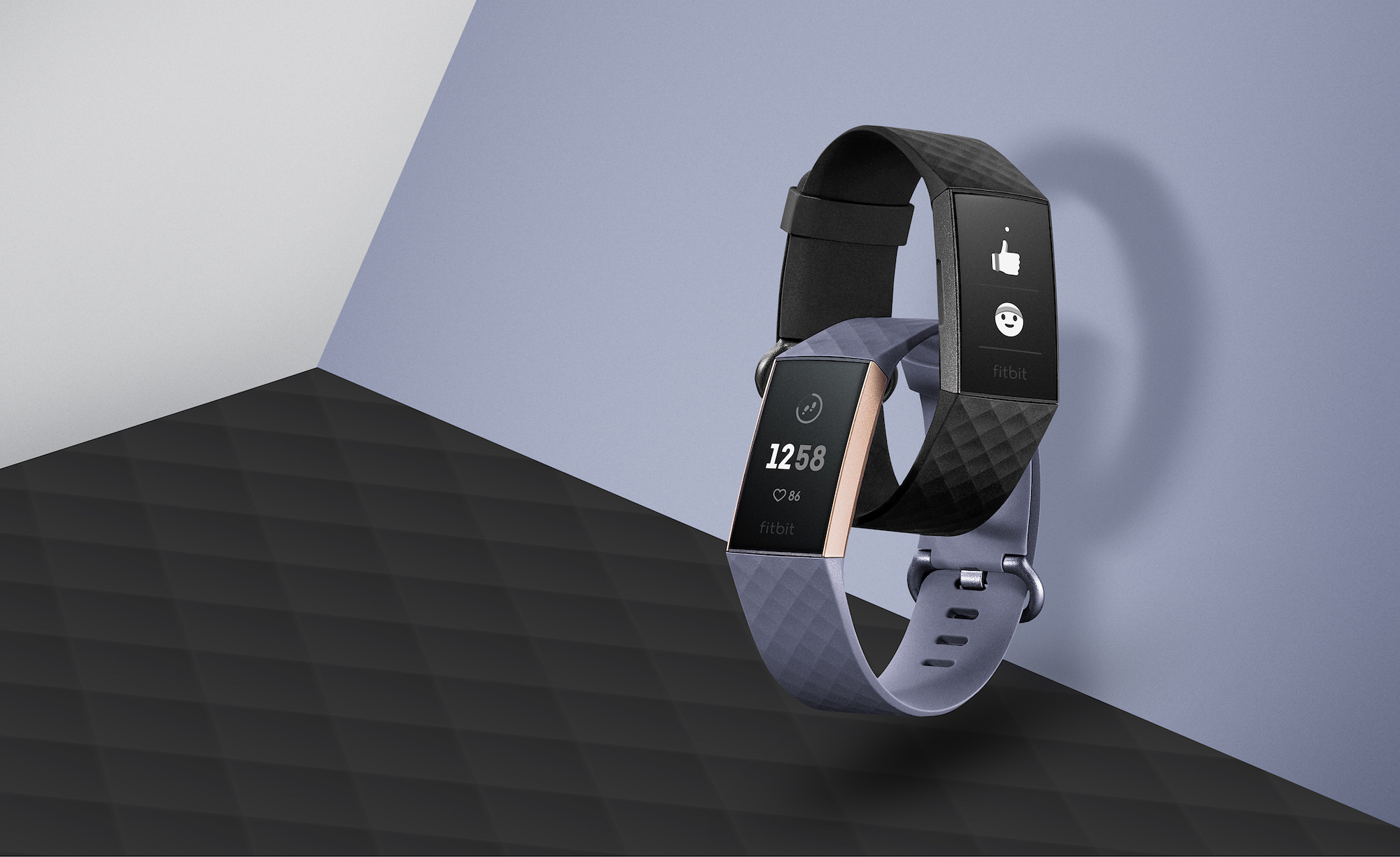 fitbit smartwatch with fitness tracker
