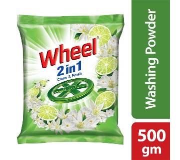 Wheel Washing Powder 2in1 Clean & Fresh -500g