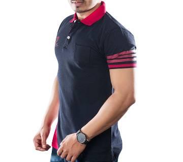 Winner Mens S/S Polo shirt - 43638 - BLACK