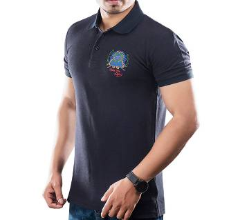 Winner Mens S/S Polo shirt - 43575 - BLACK