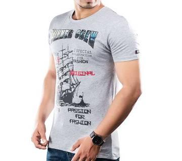 Winner Mens S/S T-Shirt - 43582 - GREY