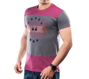 Winner Mens S/S T-Shirt - 43574 - RODHODENDRON