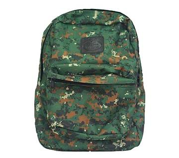 Fortuna Bangladesh Army Printed Fabric Backpack for Men