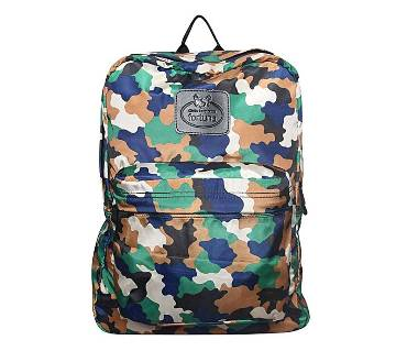 Fortuna Bangladesh Multi-color Canvas Backpack for Men