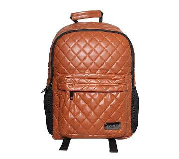 Fortuna Bangladesh Brown Leather Backpack for Me
