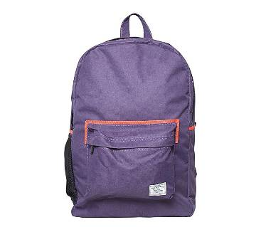 Fortuna Bangladesh Purple Canvas Backpack for Men