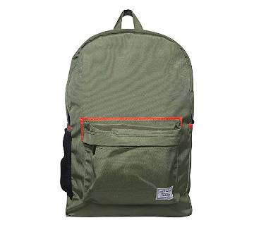 Fortuna Bangladesh Green Canvas Backpack for Men
