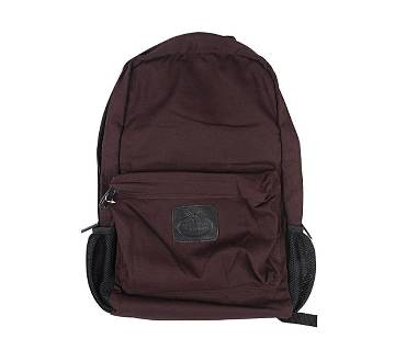 Fortuna Bangladesh Brown Canvas Backpack for Men