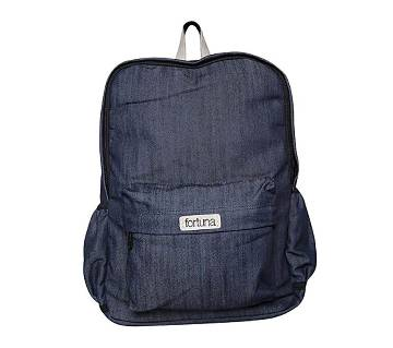 Fortuna Bangladesh Navy Blue Fabric Backpack for Men
