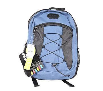 Fortuna Bangladesh Blue Canvas Backpack for Men