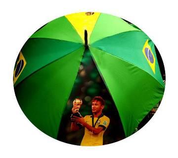 Brazil Flag Umbrella