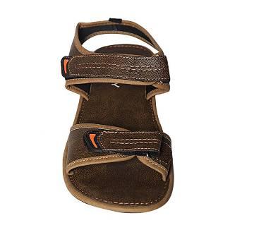 Fortuna Bangladesh Olive Pu Leather Sandals for Men