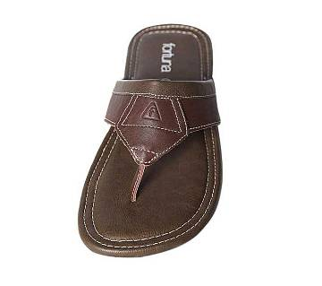 Fortuna Bangladesh Brown Leather Sandals for Men