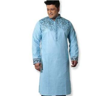 Eid Collection - Gents Semi Long Cotton Punjabi