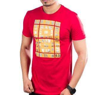 Winner Mens T-shirt - 43585 - RED