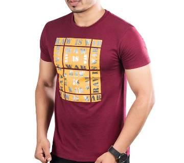 Winner Mens T-shirt - 43585 - MAROON