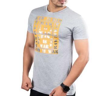 Winner Mens T-shirt - 43585 - GREY MELANGE
