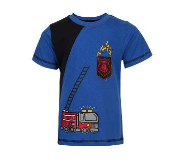 Winner Boys S/S T-shirt - 43571 - BLUE