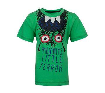Winner Boys S/S T-shirt - 43587 - GREEEN