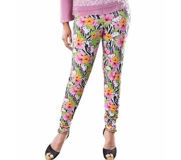 Winner Ladies Fashion Leggings - 43599 - Pink AOP