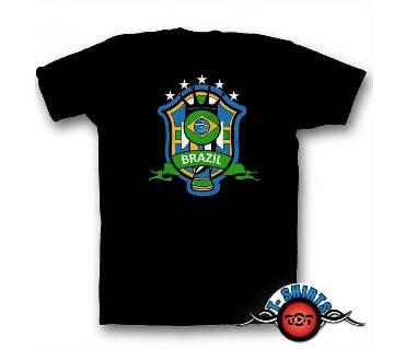 Brazil Team T-shirt For Women