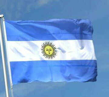 Argentina National Flag - 5 feet