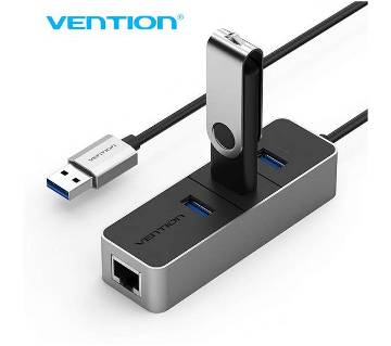 VENTION 3 Port USB 3.0 HUB with 10/100Mbps LAN