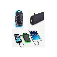 SOLAR Water Proof Power Bank With LED Light