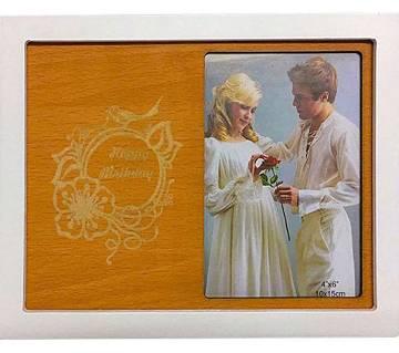 রোমান্টিক উড ফটো ফ্রেম - Stylish Wooden frame