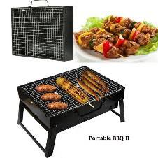 Portable BBQ Grill Maker - Black