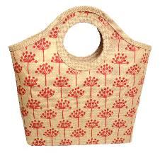 Natural Jute Shopping Bag - Small
