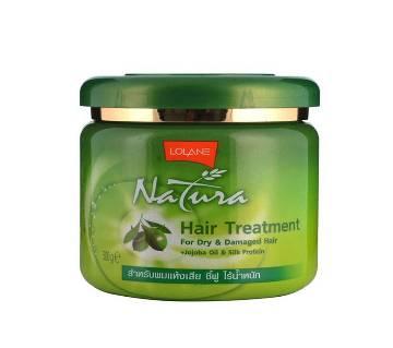 Lolane Natura Hair Treatment For Dry & Damaged Hair Care - Thailand 250gm