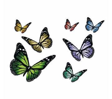 Butterfly Wall Sticker (12pc)