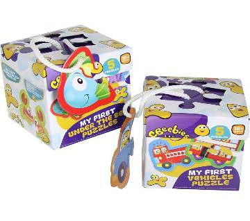 Cbeebies My First Vehicle Puzzle