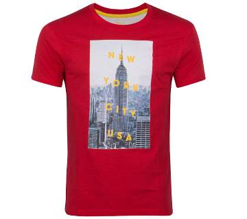 Winner Mens T-shirt - 43572 - Red