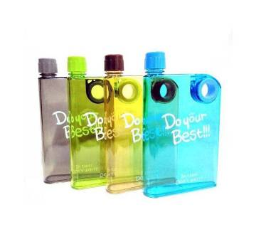Notebook Water Bottle 380ml - 1 Piece