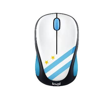 Logitech M238 Wireless Mouse (Argentina Flag Designed) - Free 1 pcs Argentina wristband