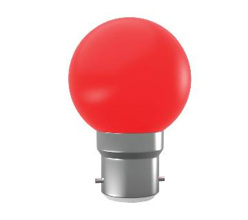 Super Star AC LED 0.5W RED E-27 COLORLUX ROUND