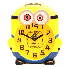 MINION SHAPED TABLE CLOCK