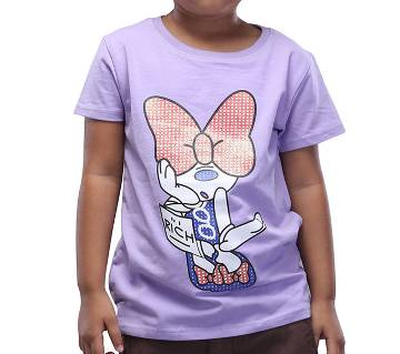 Winner Girls short sleeve T-shirt - 37956 - PURPLE - WIN00209