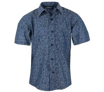 Winner WR-SS Kid's ( Boys) -Shirt-003-17 - 43509 - Navy aop