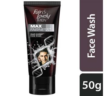Fair And Lovely Mens Max Fairness Face Wash 50g (21007979)