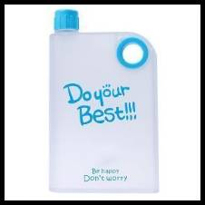 Notebook Water Bottle