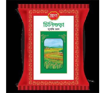 Pran চিনিগুড়া প্রিমিয়াম চাল (৫ কেজি) - 32118