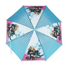 Sky Blue Kids Umbrella with whistler