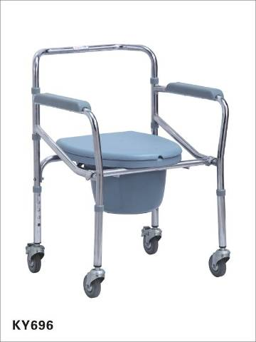 KY-696 Commode and Wheel Comb Chair