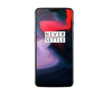 OnePlus 6 Smartphone - 6GB RAM - 64GB ROM - 16MP Camera - Mirror Black with Free Bluetooth Headphone