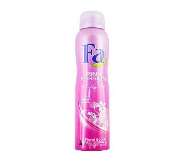 Fa Branded Body Spray Fa PINK PASSION (200ml)