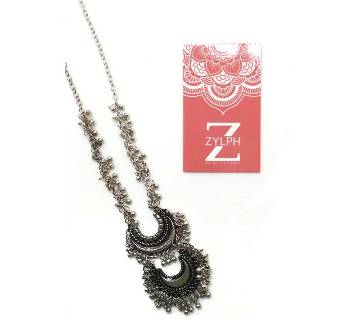 Afghani Two Layer Oxidized Necklace (by Zylph - NATLS)