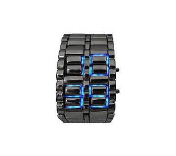 LED Samurai Watch - Black